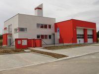 Novostavba hasičské zbrojnice ve Svinově