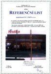 Novostavba prodejny potravin č. 716, Hruška spol. s r.o. v Ulici Nádražní a Dukelská 3 v Bílovci