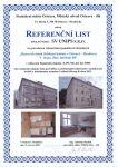 Rekonstrukce památkově chráněných bytových domů Jubilejní kolonie v Ostravě – Hrabůvce V. etapa, dům č. 68