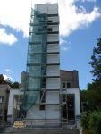 Oprava věže kostela Ostrava-Svinov