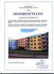 Stavební úpravy panelových domů bytového družstva Makovského 4424-4426 v Ostravě-Porubě
